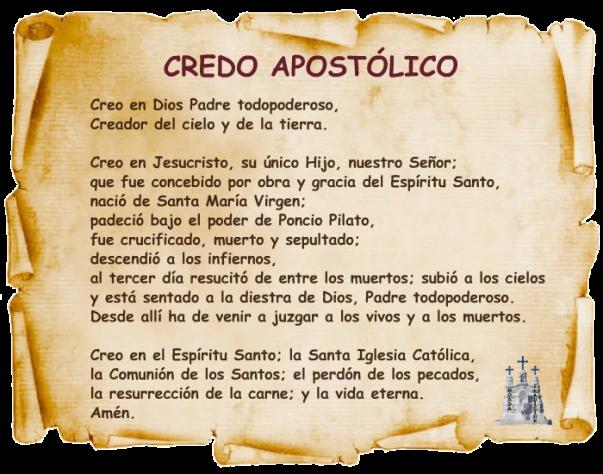 credoapostolicoac3b1odelafe