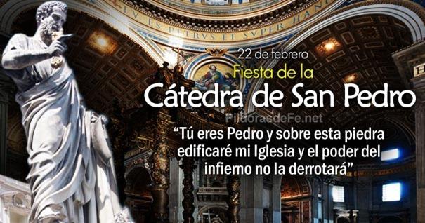 Resultado de imagen de catedra de san pedro apostol