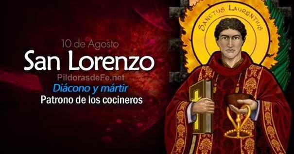 10-08-san-lorenzo-diacono-martir-patrono-de-cocineros