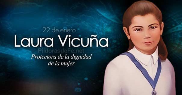 22-01-laura-vicuna-protectora-dignidad-mujer-virgen