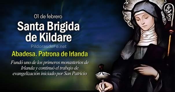 01-02-santa-brigida-de-kildare-abadesa-patrona-de-irlanda