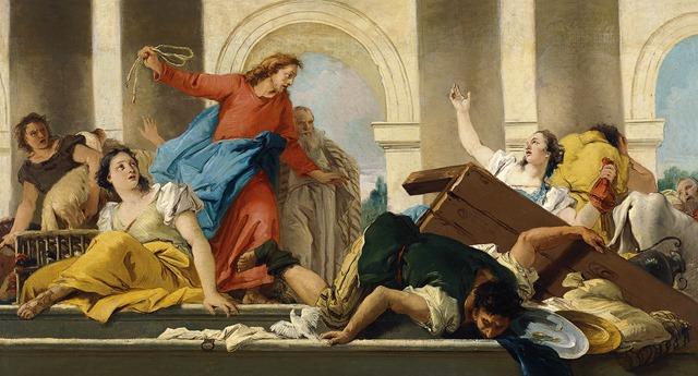 La expulsion de los mercaderes del Templo