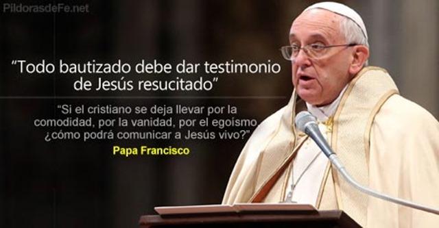 papa-francisco-bautizado-testimoniar-jesus